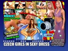 Czech Girls In Sexy Dress