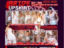 Bride Upskirt
