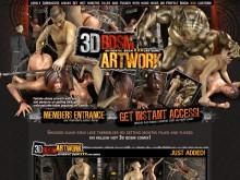 3D BDSM Artwork